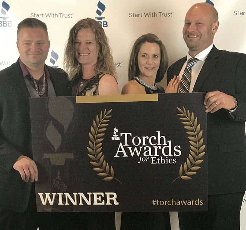 Champs Family Automotive - 2017 Torch Award for Ethics Winner
